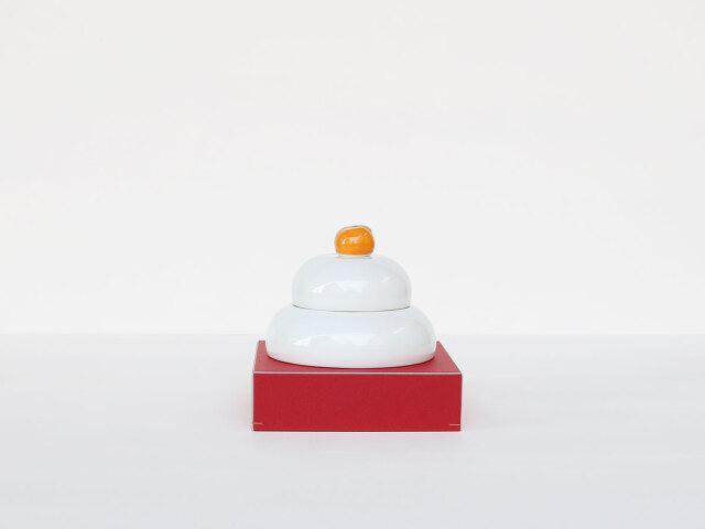 【数量限定】鏡餅 置物(ボウル、箸置き)波佐見焼