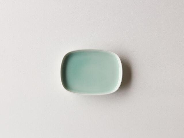 青白磁 楕円皿 波佐見焼