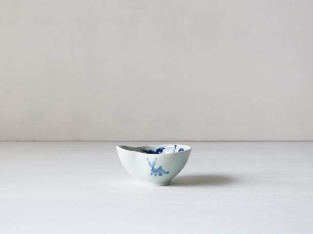 うさぎ唐草 ひさご型小付 有田焼