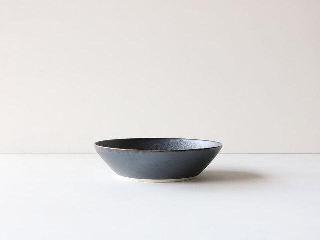 フチ艶金 24cm 深平鉢 有田焼
