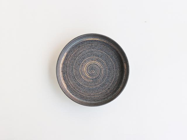 晶金かすり 23cm肉皿 有田焼