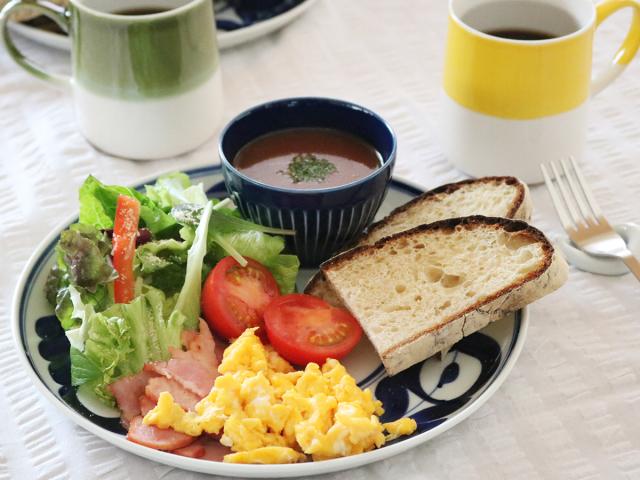 【4点セット】朝ごはんのうつわセット 有田焼/波佐見焼