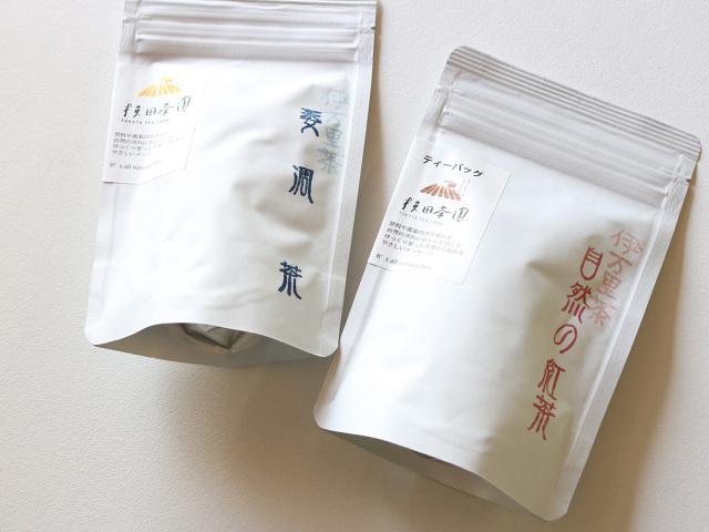 横田茶園のお茶(萎凋茶と自然の紅茶)