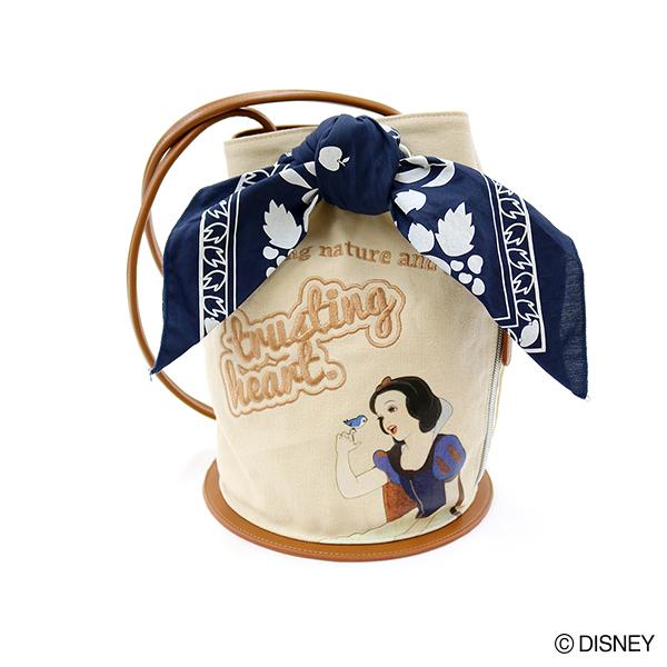 白雪姫 ショルダー巾着 ディズニー アコモデ