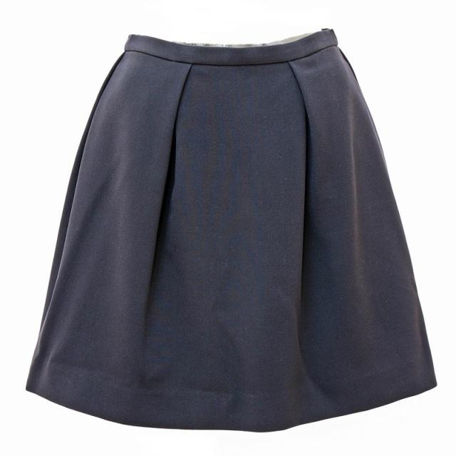 ESTNATION(エストネーション) ウール調シンプルなフレアスカート