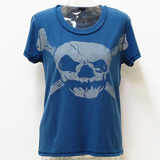 UA(ユナイテッドアローズ/Another Edition/アナザーエディション)半袖スカルTシャツ/ロックTシャツ