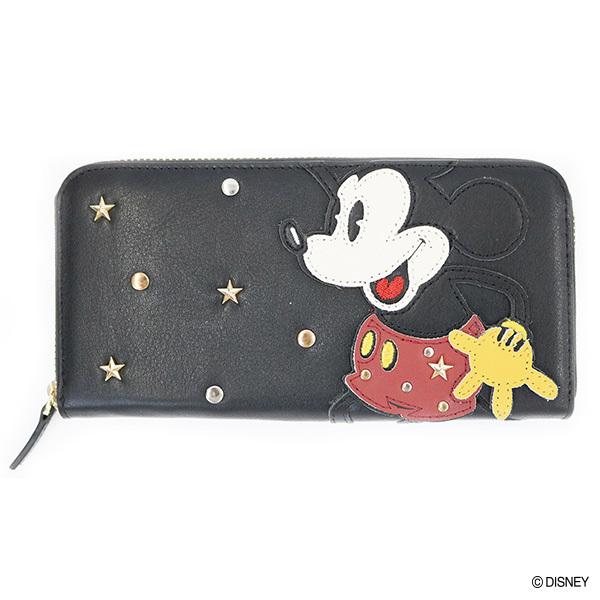 アコモデ ディズニー 長財布 ミッキー