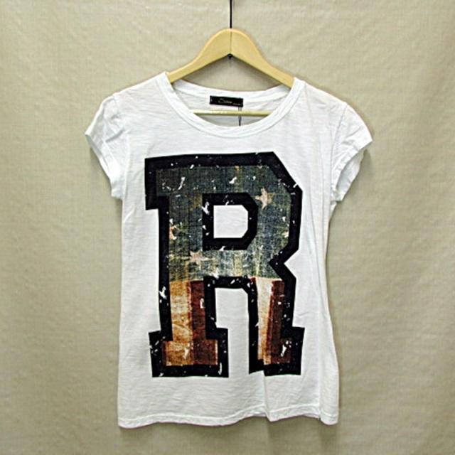 【IMPORT】インポート イタリア製 ビッグロゴRTシャツ