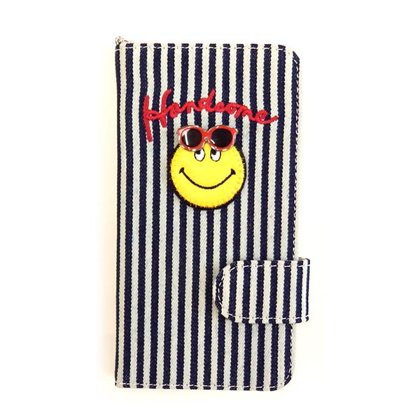 アコモデ iphoneケース ピースマーク