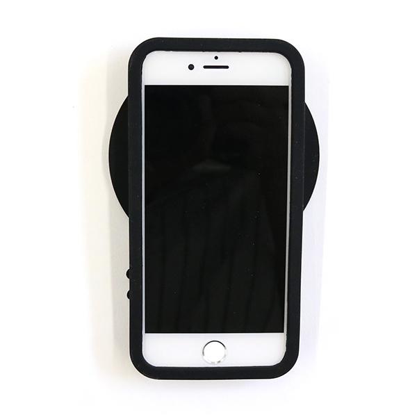 iPhone スマホケース スマイル アコモデ