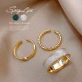 【7月新作】GOLD リング3個セット お洒落が楽しくなる♪ 3セット 指輪 アクセサリー 3SET RING 0228
