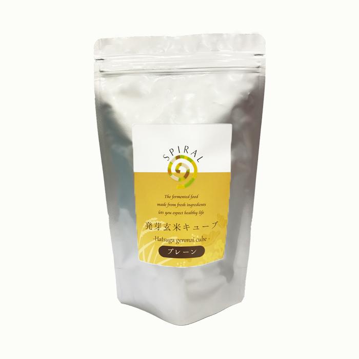 発芽玄米キューブプレーン450g