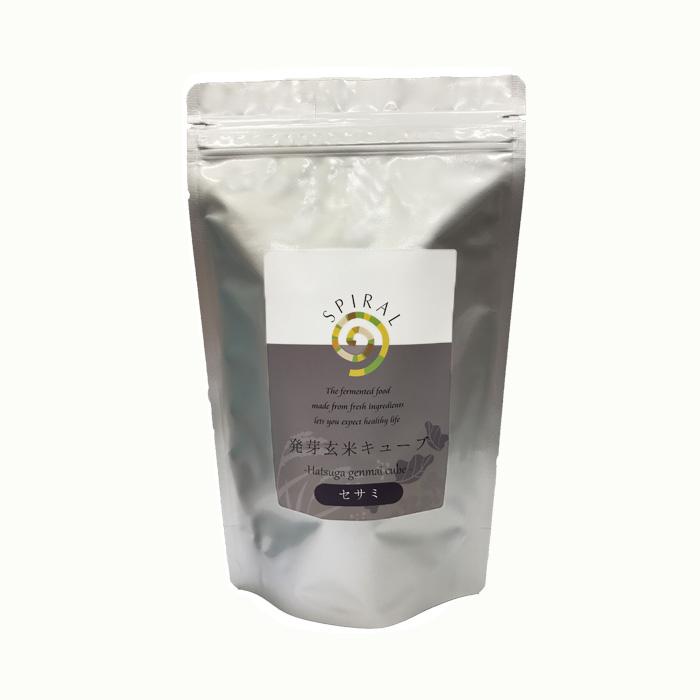 発芽玄米キューブセサミ450g