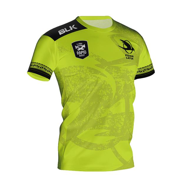 FIJIAN LATUI トレーニングティーシャツ 2020 (ライム)