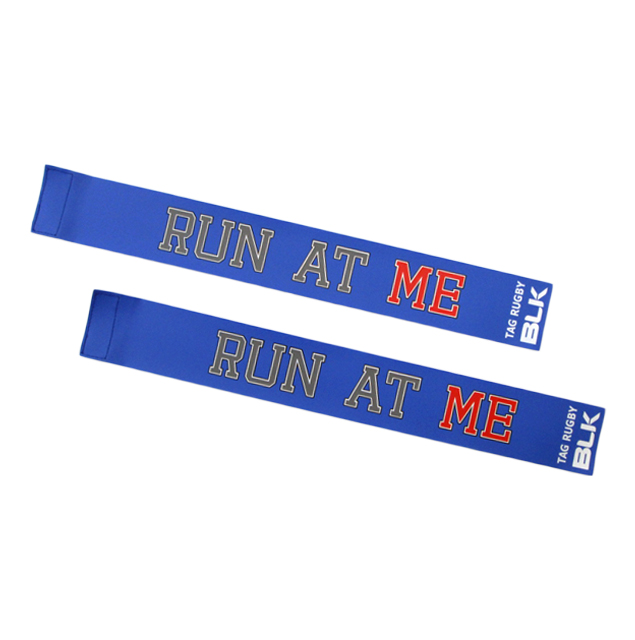 BLKタグ・ラグビー用タグ (Run at Me)*青色