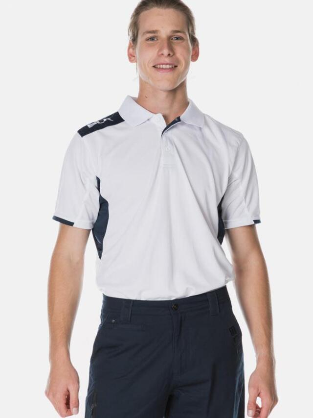 BLK Tek 6 ポロシャツ(ホワイト)
