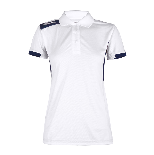 BLK Tek 6 ポロシャツ(ホワイト)レディース