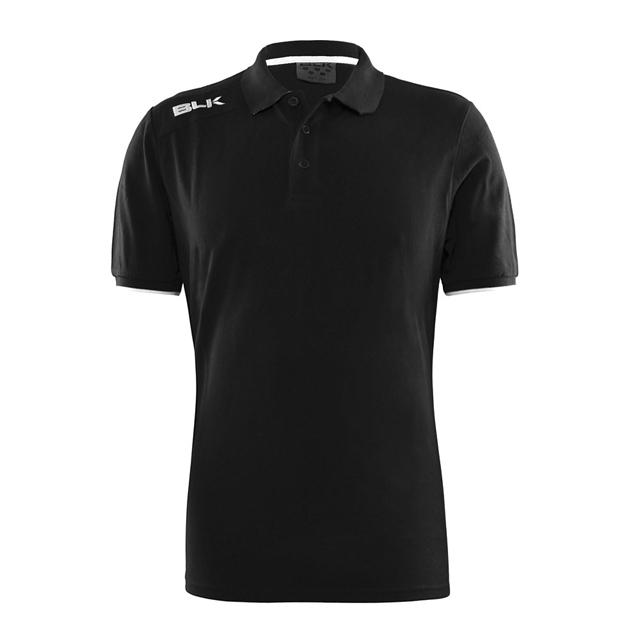 BLK Tek 6 メディアポロシャツ(ブラック)