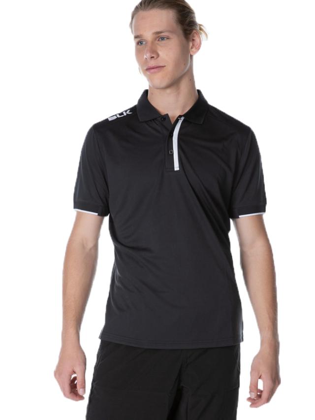 BLK Tek 7 ポロシャツ(ブラック)