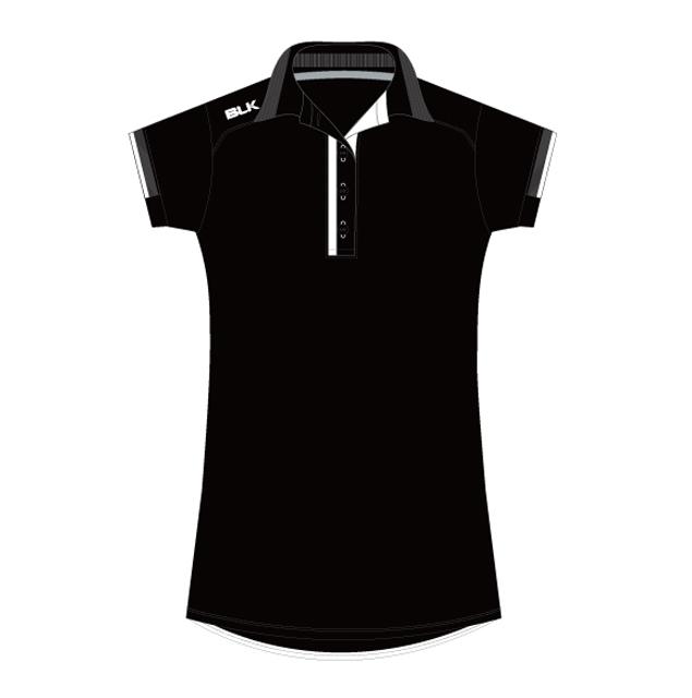 BLK Tek 7 ポロシャツ(ブラック)レディース