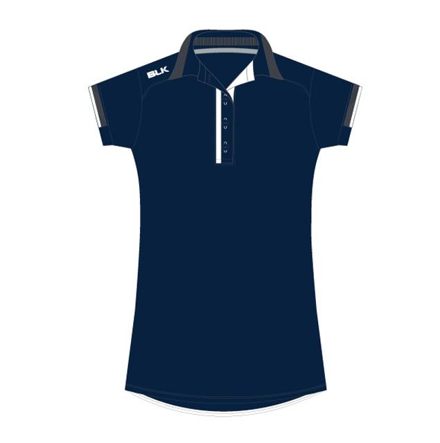BLK Tek 7 ポロシャツ(ネイビー)レディース