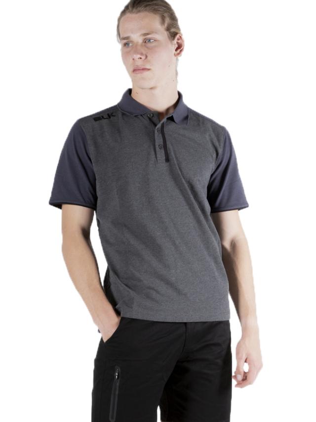 BLK LIFESTYLE ポロシャツ(チャコールグレー)