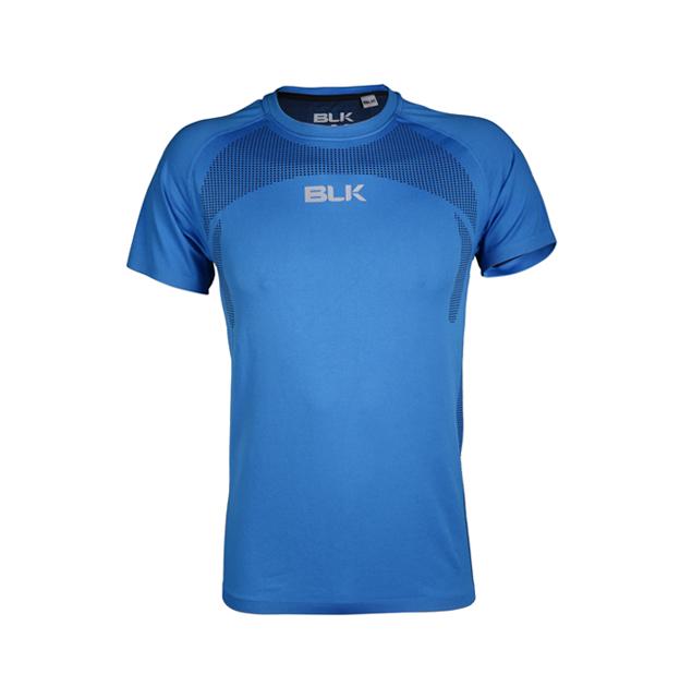 BLKモーションニットティーシャツ(オーシャンブルー)