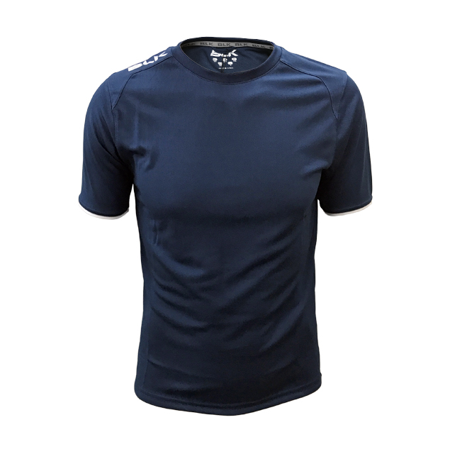 BLK Tek 7 ティーシャツ (ネイビー)