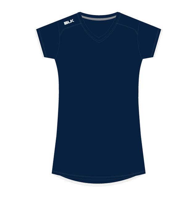BLK Tek 7 ティーシャツ (ネイビー)レディース