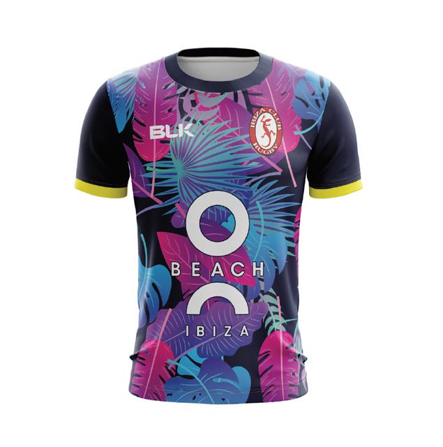 イビザラグビークラブ  トレーニングティーシャツ 2020
