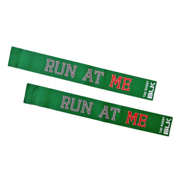 BLKタグ・ラグビー用タグ (Run at Me)*緑色