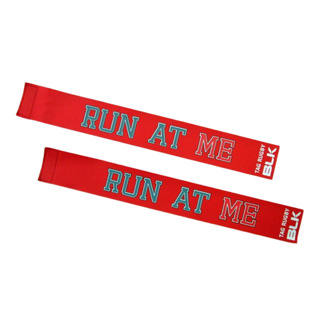 BLKタグ・ラグビー用タグ (Run at Me)*赤色