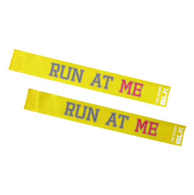 BLKタグ・ラグビー用タグ (Run at Me)*黄色