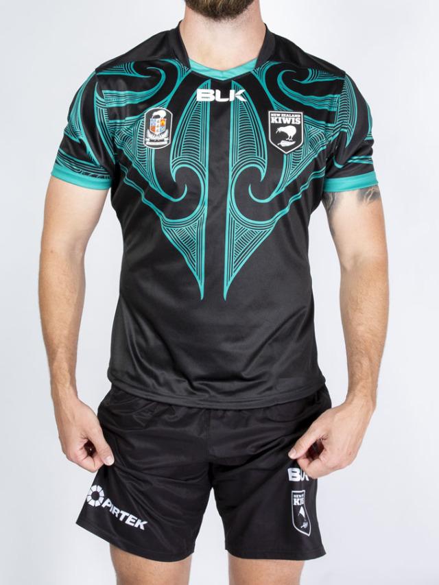 ニュージーランド代表キーウィズ(ラグビーリーグ) キャプテンズ・RUN・レプリカジャージ 2020