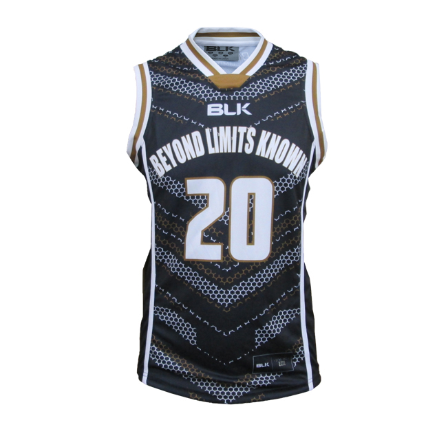 BLK バスケットボールシングレット BeyondLimitsKnown(ブラック)