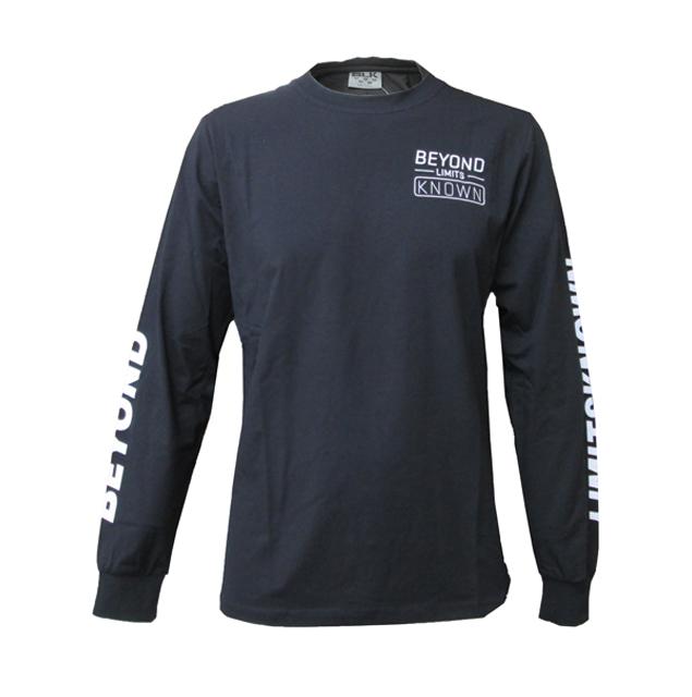 BLK Crewコットンロングティーシャツ