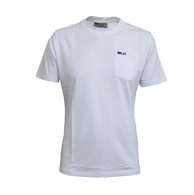 BLK Crewコットンティーシャツ(ホワイト)