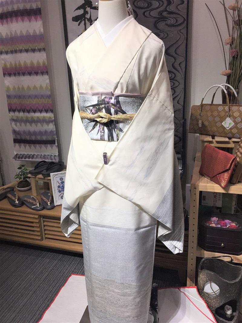 白大島紬 益田勇吉