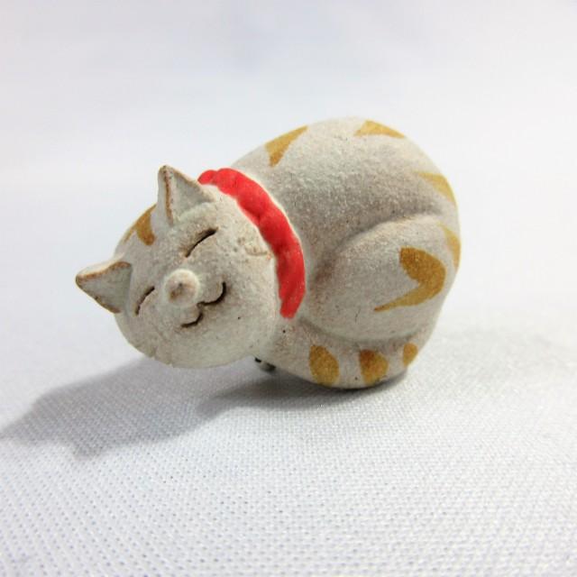 ネコ 帯留