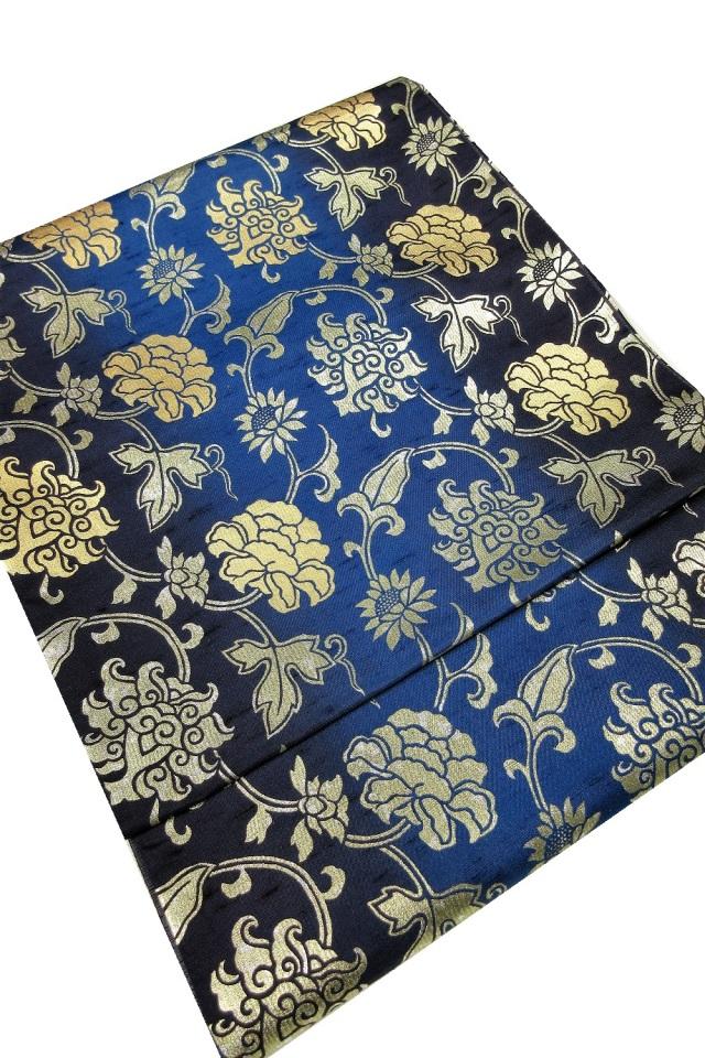 牛首紬 袋帯 特別価格