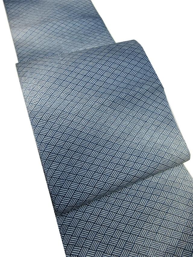 三軸組織 八寸 藍 網代