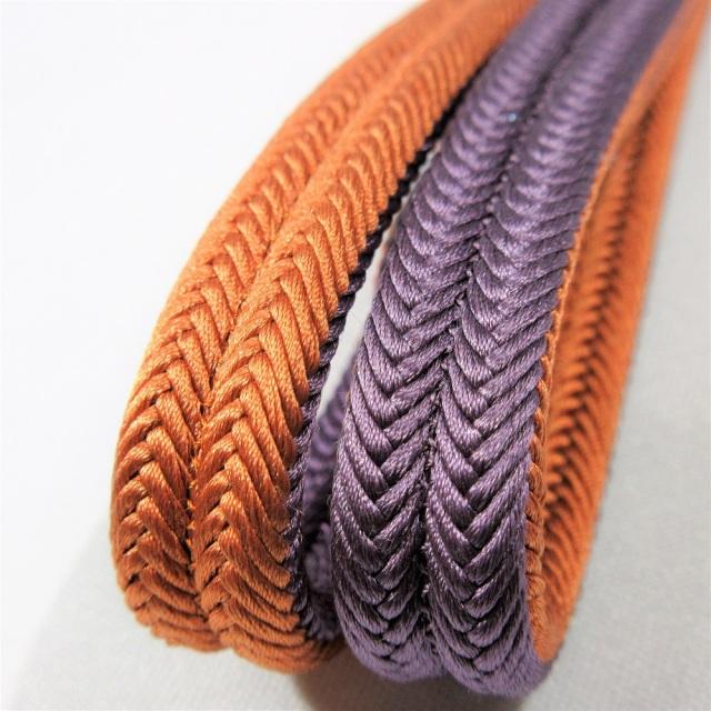 京冠 帯締め 紫
