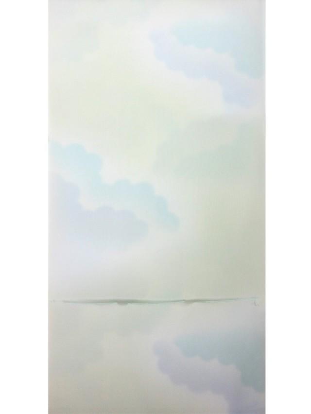 長襦袢 雲取り