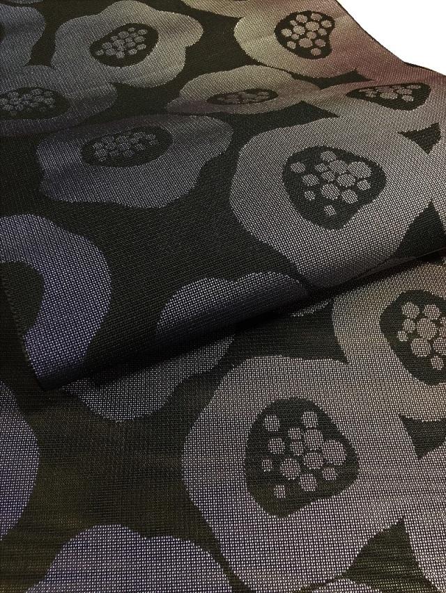 博多織 紋紗 八寸名古屋帯