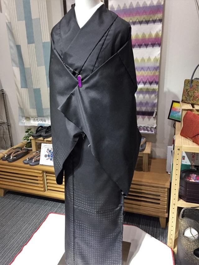 赤城紬 自然原糸紬