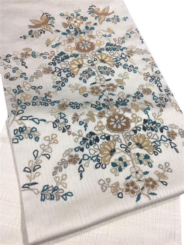 相良刺繍袋帯