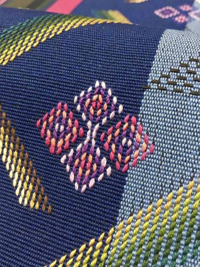 首里織花織八寸名古屋帯