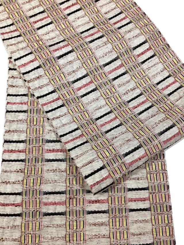 米沢織 帯