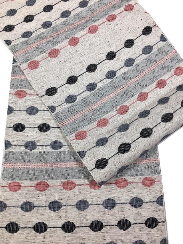 米沢織 八寸名古屋帯