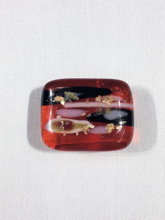 琉球ガラス 帯留め